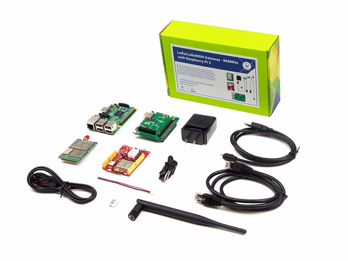LoRa LoRaWAN Gateway - 868MHz Kit with Raspberry Pi 3 - Seeed Studio