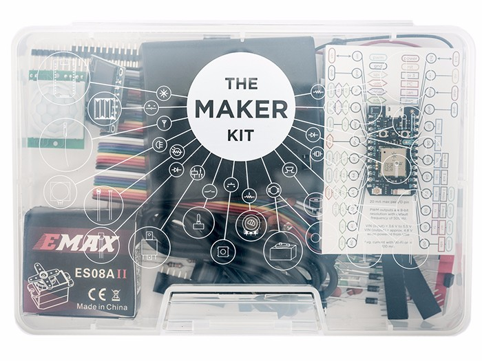Particle Photon Maker Kit: Everything you need to start building simple Internet enabled projects