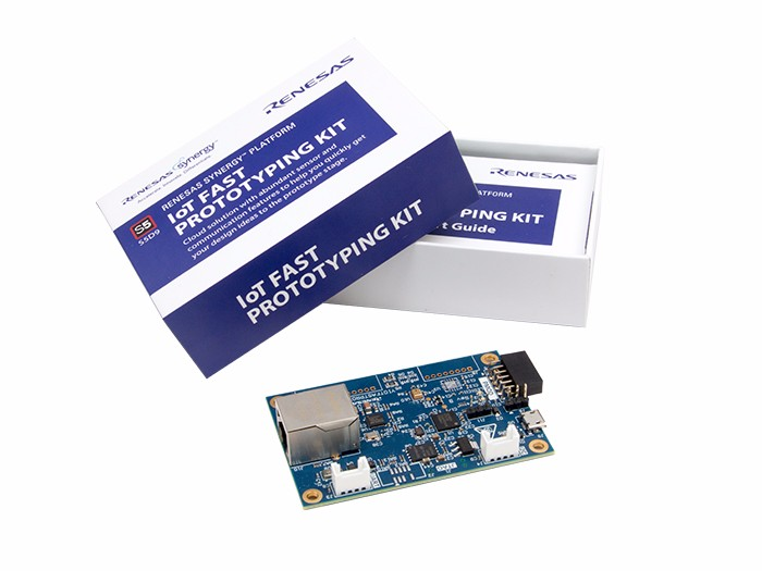Renesas S5D9 IoT Fast Prototyping Kit