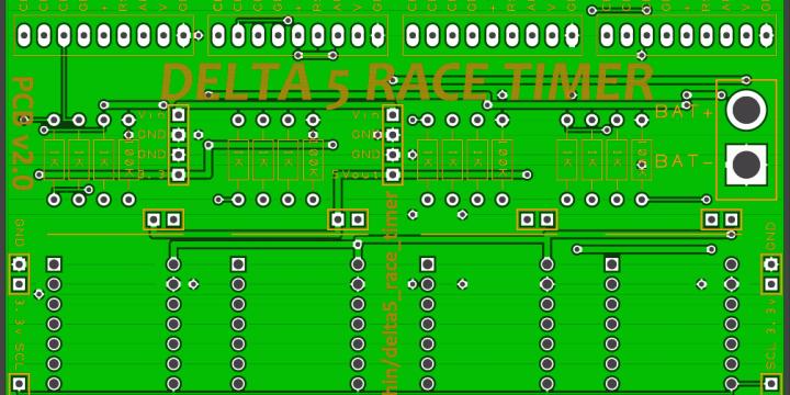 Delta 5 Race Timer v2.0