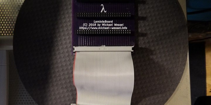 LambdaBoard Expansion Board Backplane for Amstrad CPC Computers
