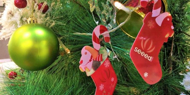Seeed Christmas Stocking PCB