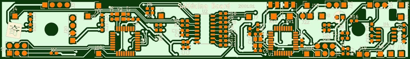 SAXduino 20S Board