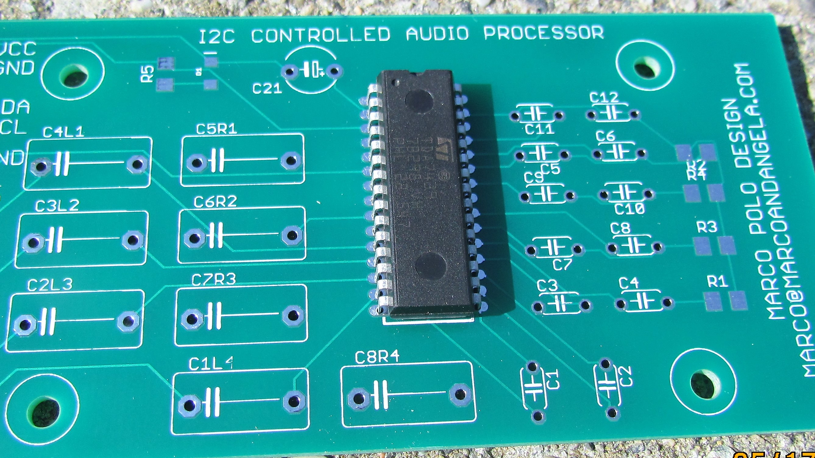 I2c Controlled Sound Processor For Amplifier Tda7439 Seeed Fusion Image Audio Circuit Board Download Img 1431