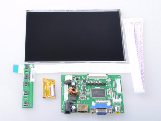 7 Inch HDMI 1280x800 IPS Display