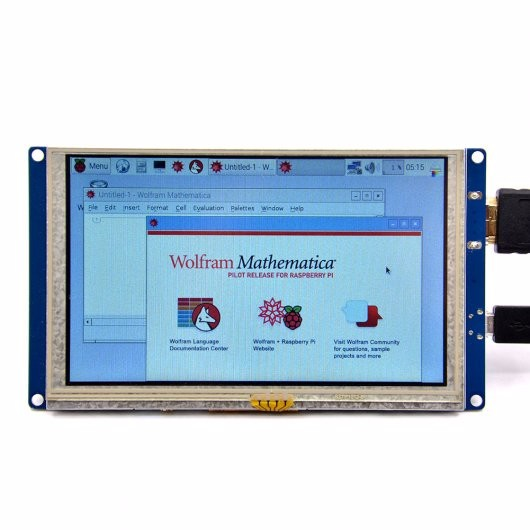 5 Inch HDMI Display with USB TouchScreen
