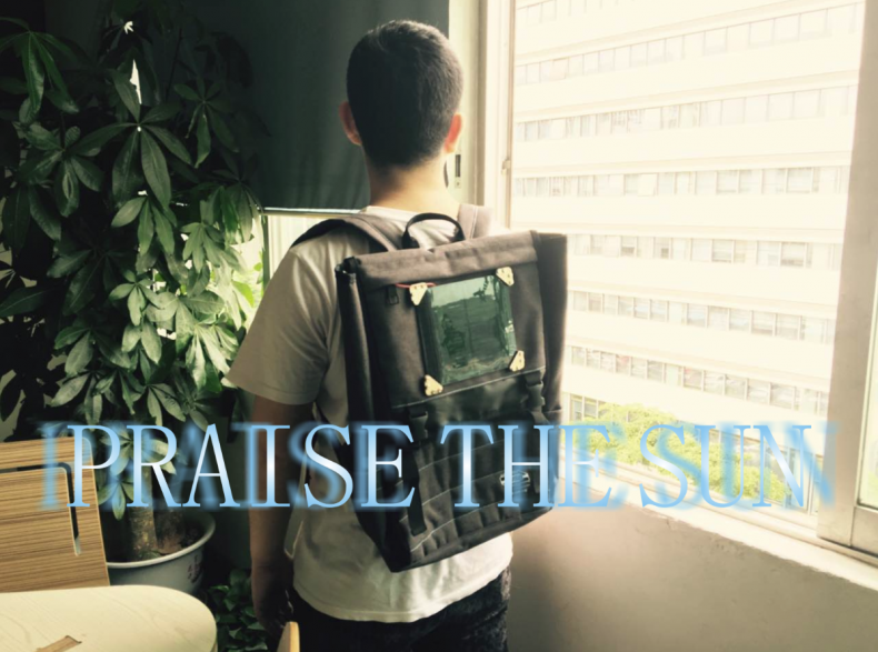 PRAISE THE SUN! Make a Solar Charging Backpack