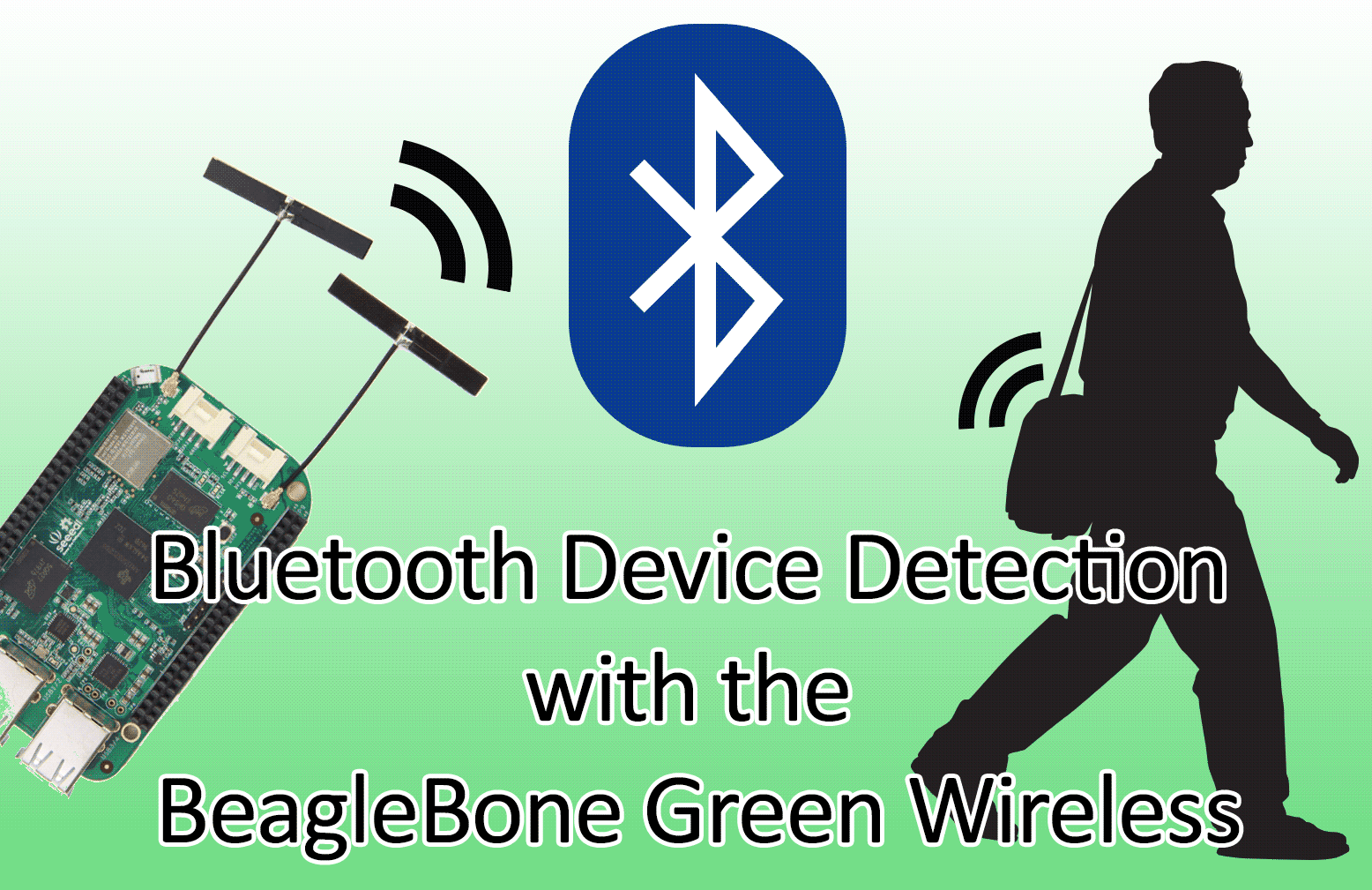 Bluetooth Device Detection with the BeagleBone Green Wireless